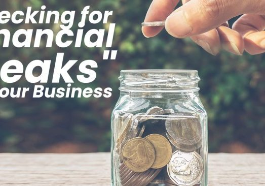 Checking for Financial _Leaks_ at Your Business_
