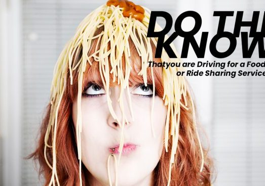 DO THEY KNOW_ Thatyou are Driving for a Food Delivery or Ride S