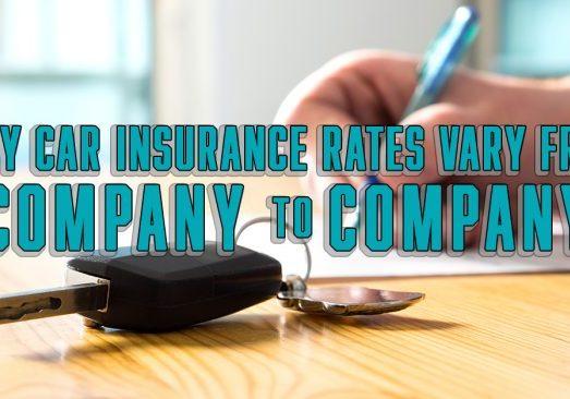 Why Car Insurance Rates Vary From Company to Company copy